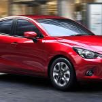 Mazda 2 – седан нового поколения
