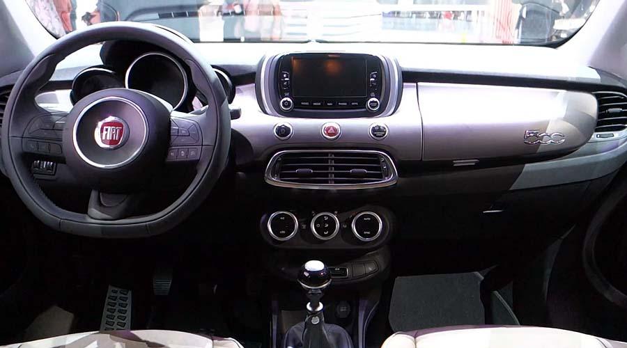 Фото обновленного Fiat 500x 2015-2016