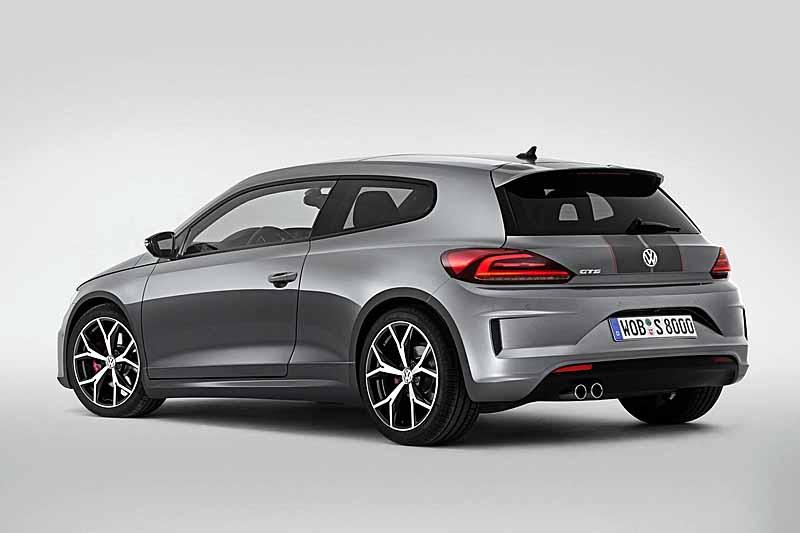 Фото обновленного Volkswagen Scirocco GTS 2016