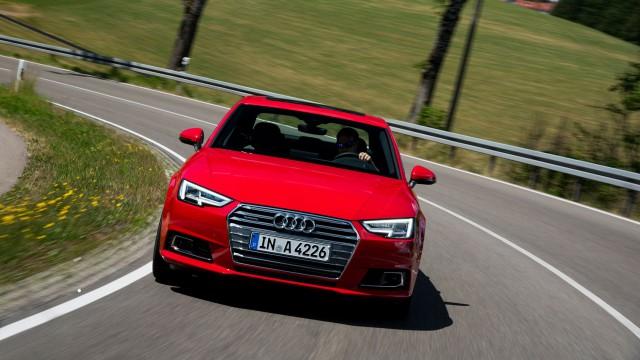 Снимок новой Audi A4