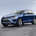 Volkswagen Touareg — доработанный кроссовер 2016 модельного года