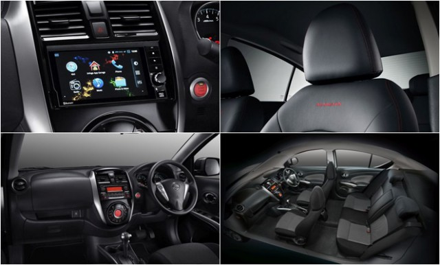 Интерьер нового Nissan Almera 2016