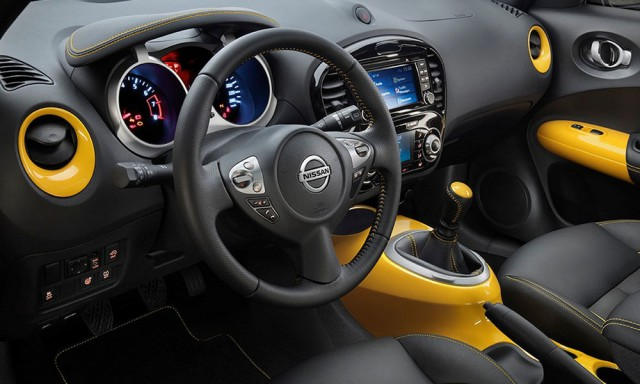 Салон Nissan Juke 2016