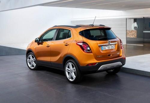 Задняя часть Opel Mokka X 2016-2017
