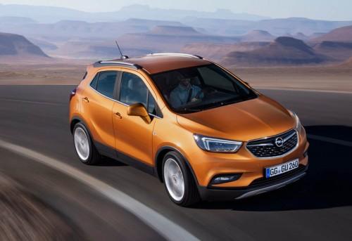 foto new Opel Mokka X 2017