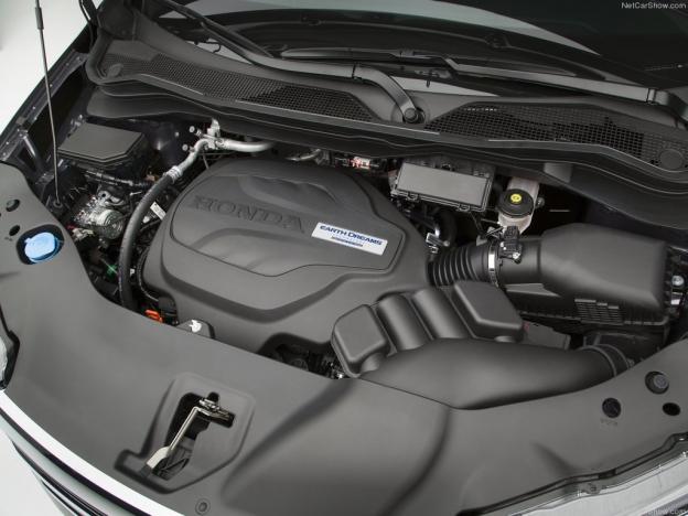 Honda Pilot 2016-2017 двигатель