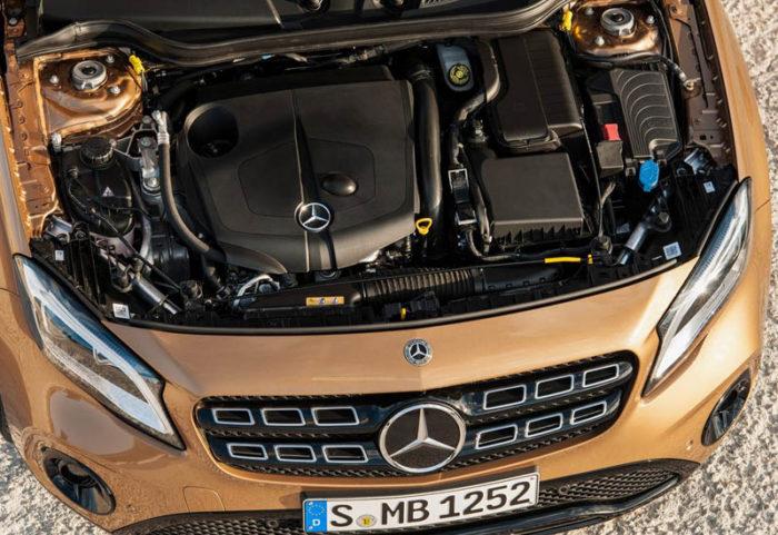 Mercedes-Benz GLA 2017-2018 пережил обновление