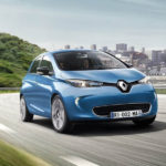 Представлен электрокар из Франции Renault Zoe 2017-2018