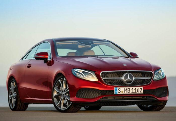 Новое поколение Mercedes-Benz E-Class Coupe 2017-2018 в новом кузове