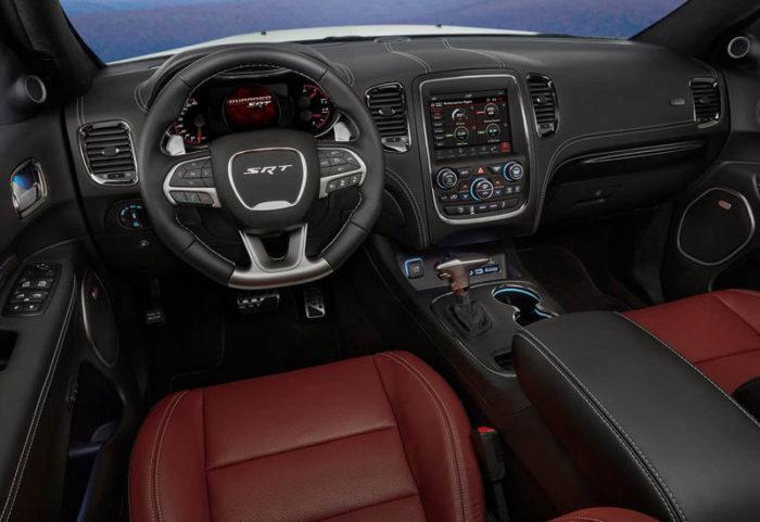 Вышел американский вседорожник Dodge Durango SRT 2017-2018 в спортивном стиле