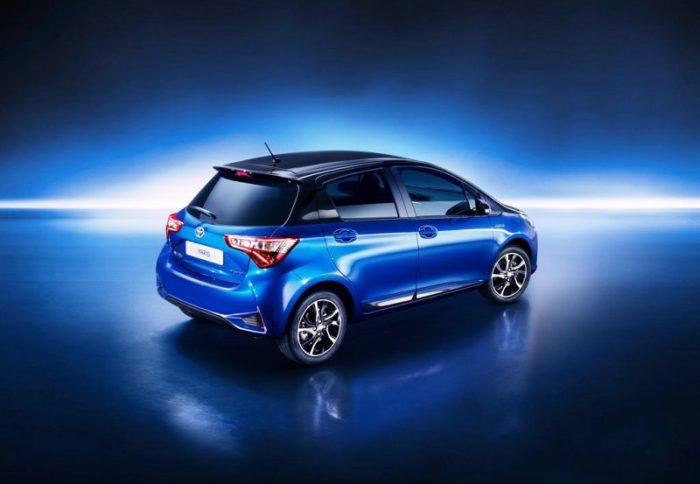 Состоялось небольшое обновление Toyota Yaris 2017-2018