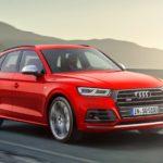 Выпущено второе поколение спортивного кросса Audi SQ5 2017-2018