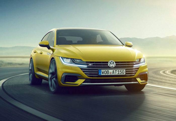 Volkswagen Arteon 2017-2018 начнут выпускать вместе VW Passat CC