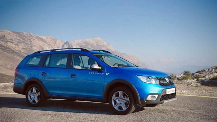 Dacia Logan MCV Stepway 2017-2018 — новый универсал с данными кроссовера