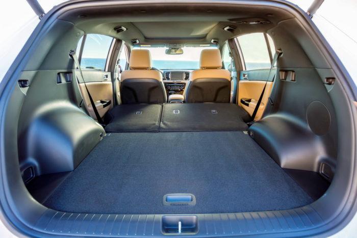 Багажник Kia Sportage 2017