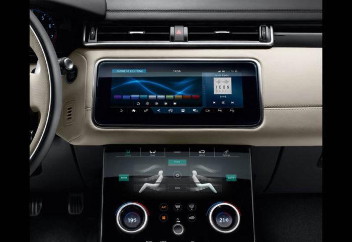 Range Rover Velar 2017-2018 показался в Женеве