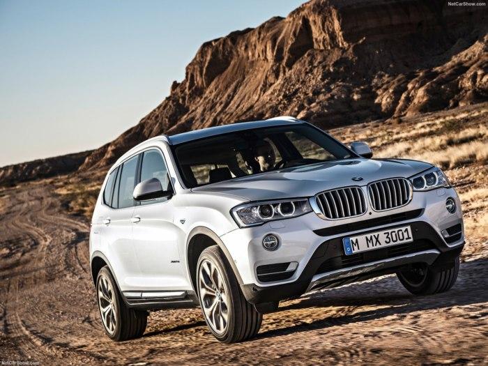 Обновленный BMW X3 2017 — фото, цены, комплектации и характеристики