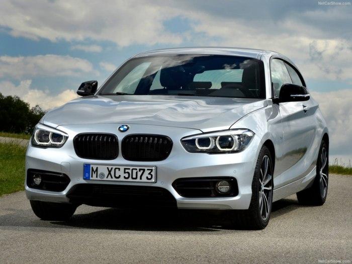 BMW 1 series 2018 модельного года: комплектации, цены, характеристики и фото