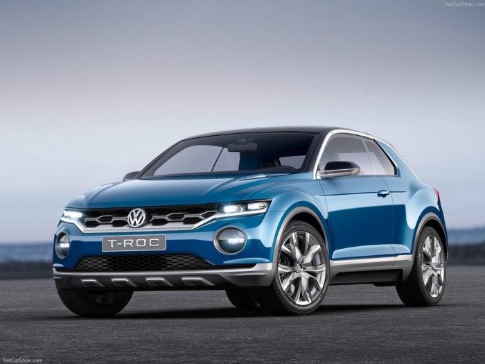 Volkswagen T-roc 2018 года - фото, характеристики и цены