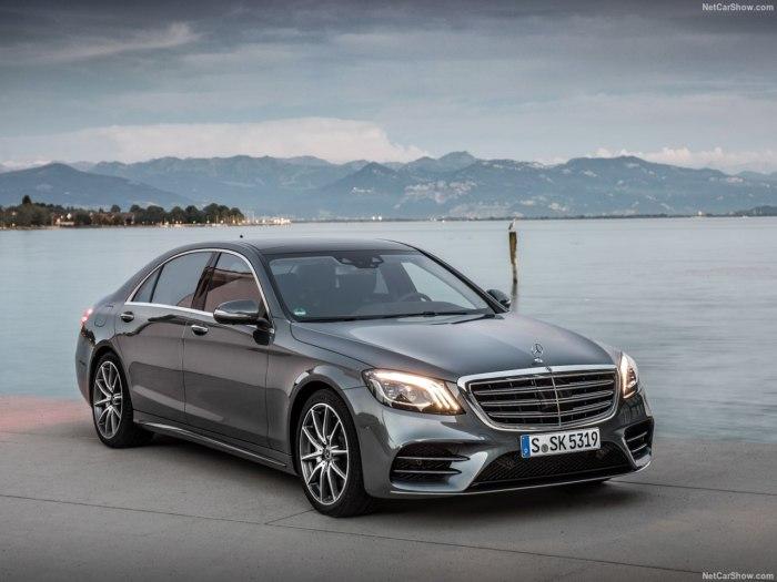 Mercedes S Class 2018 года - фото, цены, видео и технические характеристики