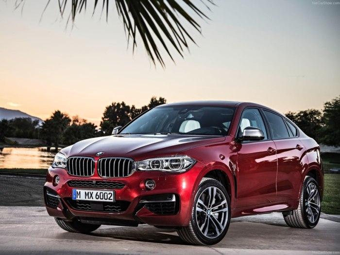 BMW X6 2018 модельного года: цены, комплектации, фото и характеристики