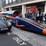 Испытания сверхзвукового автомобиля в Великобритании прошли успешно