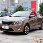 Особую юбилейную модификацию KIA Rio K2 представят в Китае