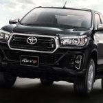 На азиатские рынки выйдет обновленный пикап Toyota Hilux