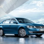 Новенький седан Lavida от Volkswagen: первые фото