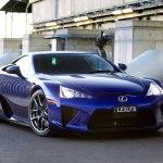 Lexus LFA выставлен на аукцион в Америке