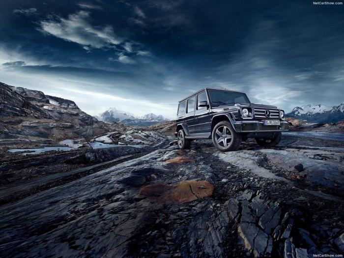 Mercedes Gelandewagen 2017 модельного года: цены, комплектации, фото и характеристики