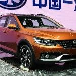 На китайский рынок выходит кросс-универсал FAW Junpai CX65.