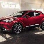 Стало известно причины низкого объема продаж кроссовера Toyota C-HR