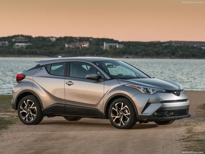 Toyota C-HR 2018 - комплектации, цены и фото