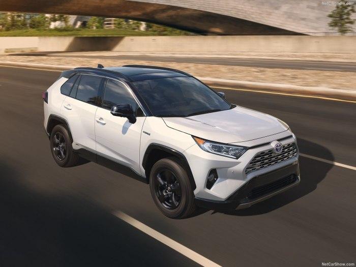 Toyota Rav 4 2019 - комплектации, цены и фото