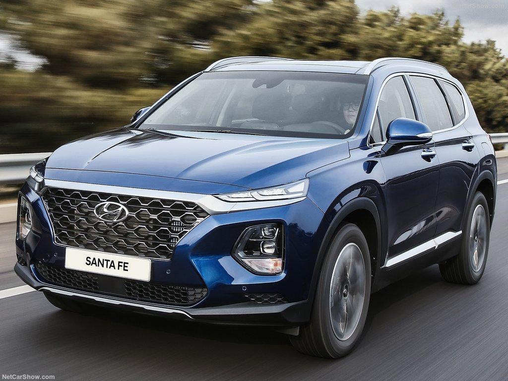 Hyundai Santa Fe 2020: вместительный 7-местный кроссовер с мощным дизельным турбомотором и полным приводом