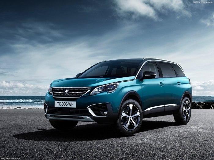 Peugeot 5008 2018 - комплектации, цены и фото