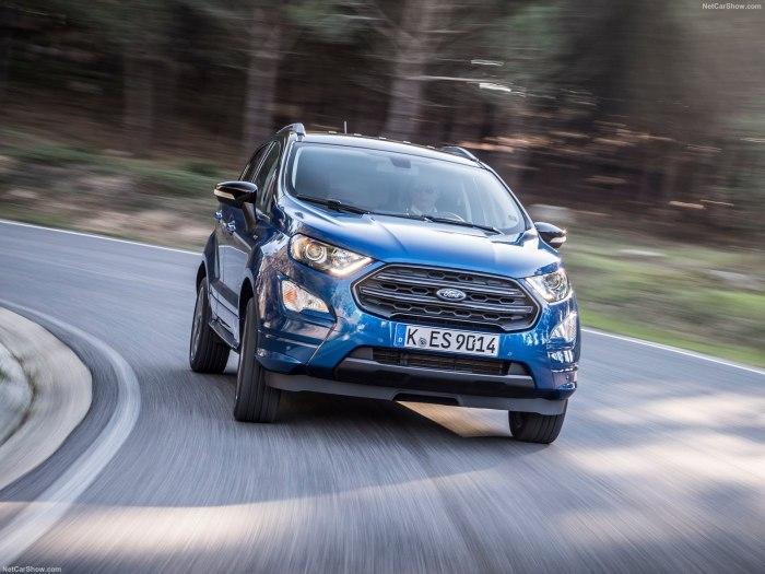 Бюджетный кросс Форд Экоспорт 2019 и его очередное обновление