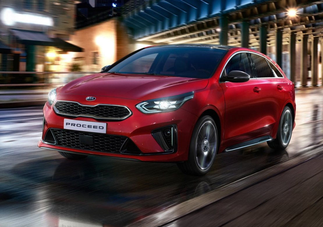 Киа Просид 2019 года получил купеобразный кузов