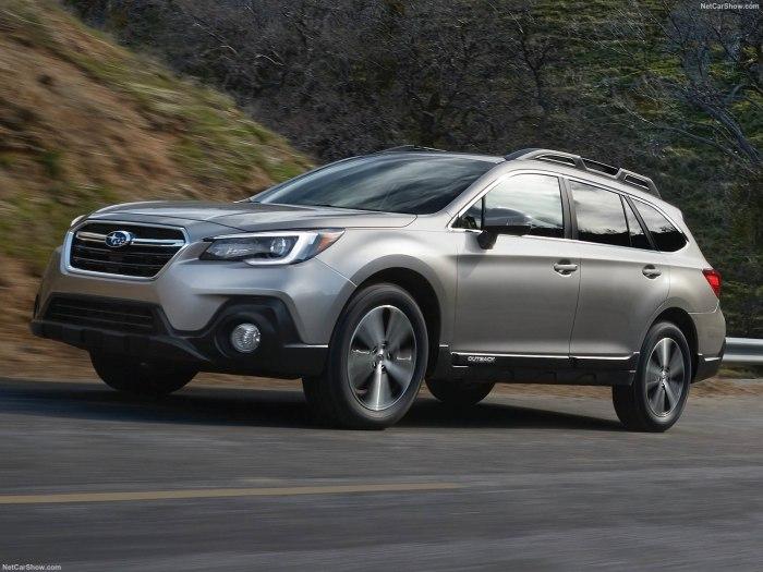 Комплектации и цены обновленного Subaru Outback 2019 года