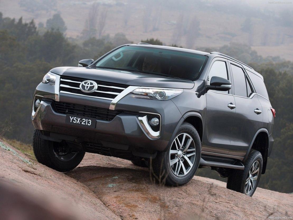 Комплектации и цены Toyota Fortuner 2019 года