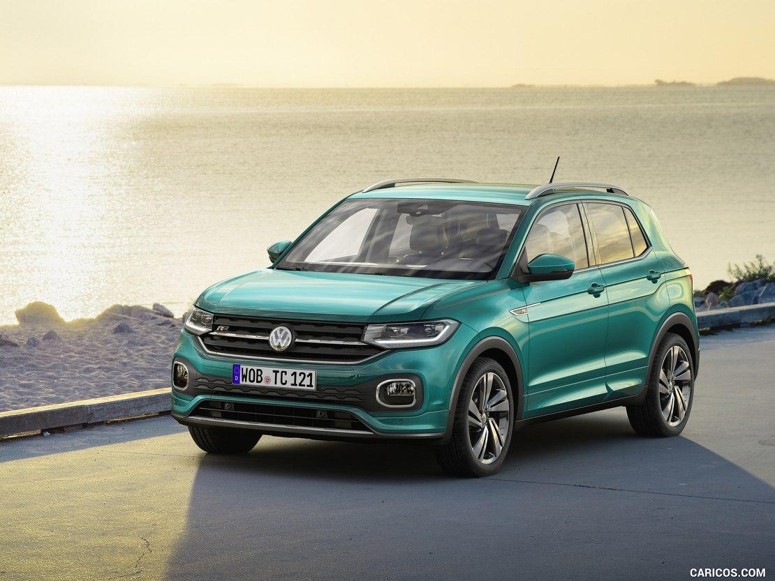 Volkswagen T-Cross 2019: новый и современный кроссовер с яркой внешностью