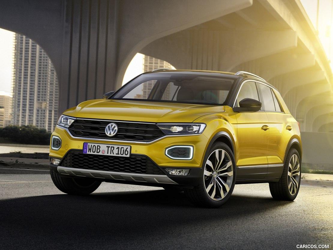 Volkswagen T-Roc 2019: абсолютная новинка с отличными характеристиками