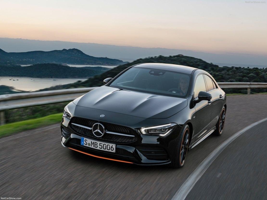 Mercedes CLA 2019 года: роскошное купе с вместительным салоном