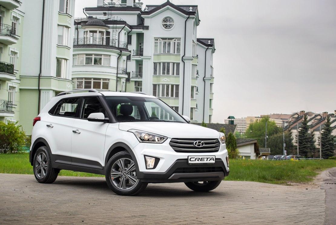 Hyundai Creta 2020: стильный кроссовер с просторным салоном и мощным двигателем дешевле 1 миллиона рублей