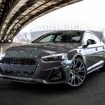 Audi A5 Sportback 2021 – опубликован тизер обновленного фастбека и первая информация об основных изменениях модели