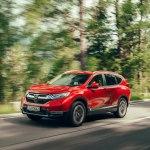 Хонда СР-В 2020 – полноприводный внедорожник с расходом «легковушки» и вместительным багажником
