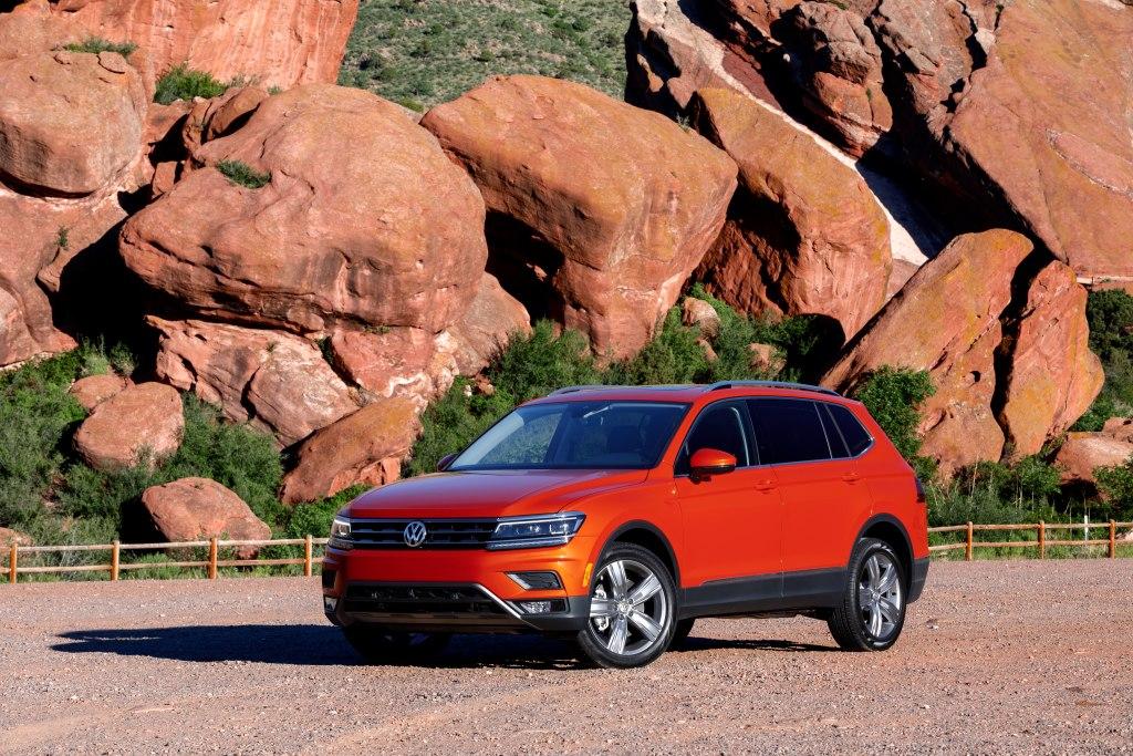 Volkswagen Tiguan 2020 –полноприводный кроссовер за ₽1 500 000 с высоким уровнем комфорта и ассистентами управления