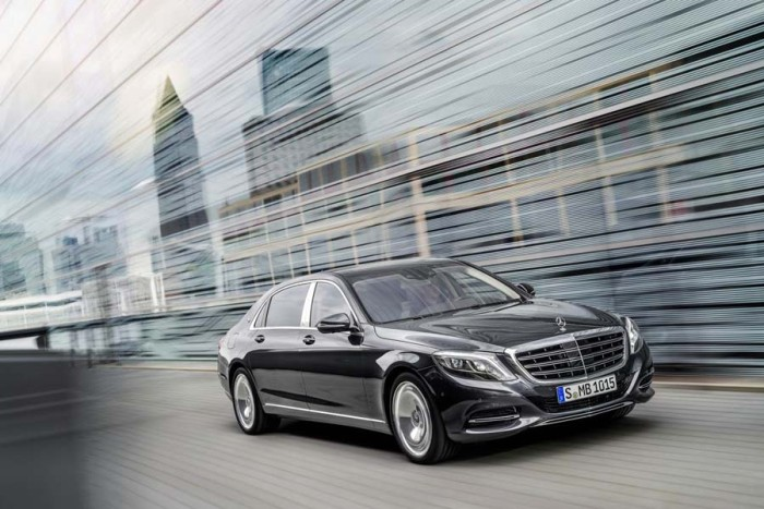 Фото Mercedes Maybach S Class 2016