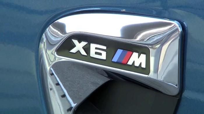 Новый БМВ Х6 М 2015-2016